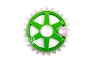 Звезда Imperial Bikes TE-37 Colour, цвет: Зелёный, Кол-во зубьев: 25 зубов