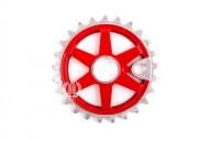 Звезда Imperial Bikes TE-37 Colour, цвет: Красный, Кол-во зубьев: 25 зубов