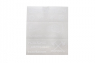 Demolition Лист наклеек, цвет: Белый,