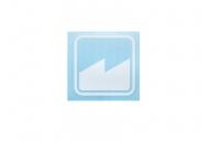 Merritt  Квадрат плоттерная , цвет: Белый,