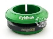 Рулевая FlyBikes Regular, цвет: Зелёный,