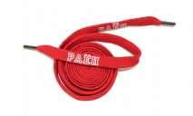 Ремень РАЁН Шнурок, цвет: Красный,