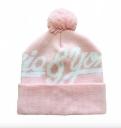 Шапка Ziq & Yoni Logo Beanie, цвет: Розовый,