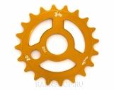 Звезда Suelo Sprocket, цвет: Оранжевый, Кол-во зубьев: 18