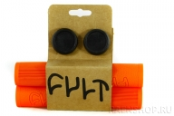 Грипсы Cult Faith, цвет: Оранжевый, Длина : 150, Фланцы: 0
