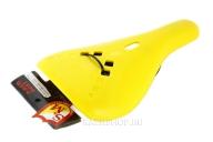 Седло S & M P-Rail, цвет: Жёлтый, Форма: Slim, Крепление: Рэйлы, Обшивка: Нет
