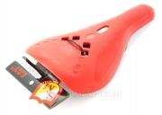 Седло S & M P-Rail, цвет: Красный, Форма: Slim, Крепление: Рэйлы, Обшивка: Нет
