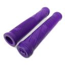 Грипсы Merritt  Cross-Check , цвет: Фиолетовый, Длина : 160мм, Фланцы: Нет