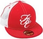 Кепка FitBikeCo FBC Mesh Hat, цвет: Красный, Размер: 7-3/8, Вид: SnapBack