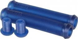 Грипсы FlyBikes Devon , цвет: Прозрачно-Синий, Длина : 160