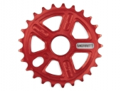 Звезда Merritt  Mighty, цвет: Красный, Кол-во зубьев: 25 зубов, Защита: 0, Диаметр оси: 0