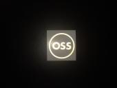 OSS наклейка плоттерная круглая, цвет: Светоотражающий,