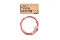 Тормоз Proper Тросик, цвет: Оранжевый, Размер: 0
