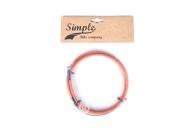 Тормоз Simple Тросик, цвет: Оранжевый, Размер: 0