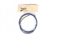 Тормоз Simple Тросик, цвет: Чёрный, Размер: 0