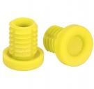 Баренды Stolen Vortex BarPlugz Пластик, цвет: Жёлтый, Материал : Пластик