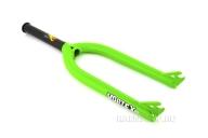 Вилка Stolen Vortex SSL, цвет: Зелёный, Диаметр оси: 10мм, Выбег: 33.1