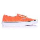 Кеды Vans Authentic, цвет: Оранжевый, Размер: 6.5